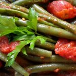Sperziebonen met tomaat (fagiolini al pomodoro)