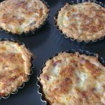 Zalm-garnalen quiches