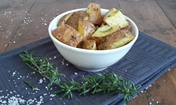 oven geroosterde aardappelen