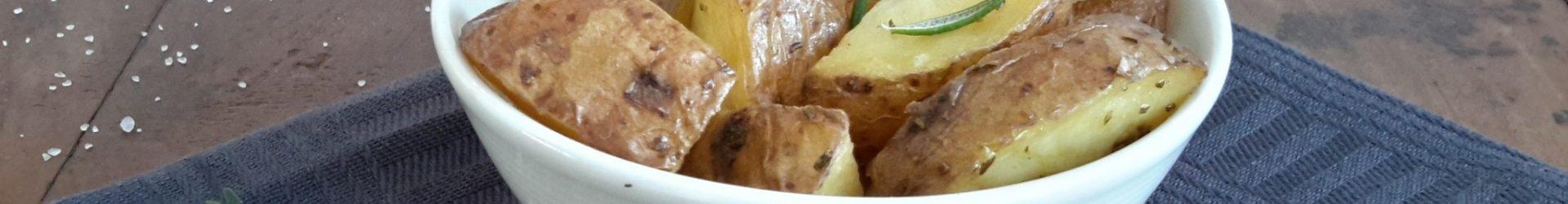 Oven geroosterde aardappelen (patate arrosto)