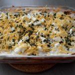 Lasagne met pompoen, spinazie en mozzarella7