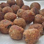 Polpettine di melanzane (gefrituurde aubergineballetjes)