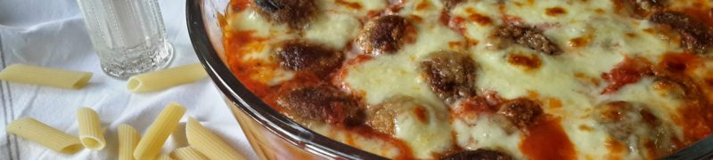 Polpette di melanzane al sugo di pomodoro (aubergineballetjes met tomatensaus en mozzarella)