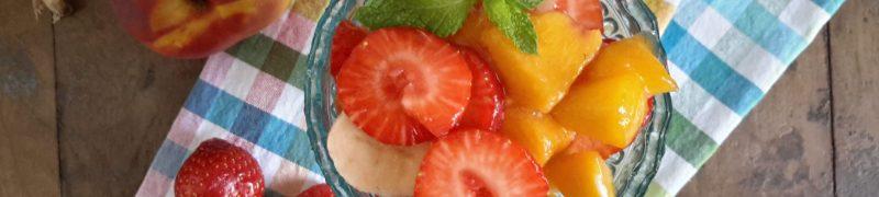 Macedonia di frutta fresca (verse fruitsalade)