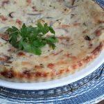 Schiacciata di patate, zucchine e prosciutto (aardappeltaart met courgette en ham)