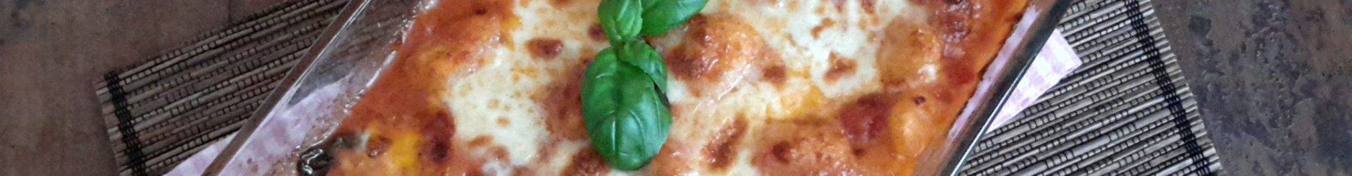 Gnocchi met tomatensaus en mozzarella uit de oven (gnocchi alla Sorrentina)
