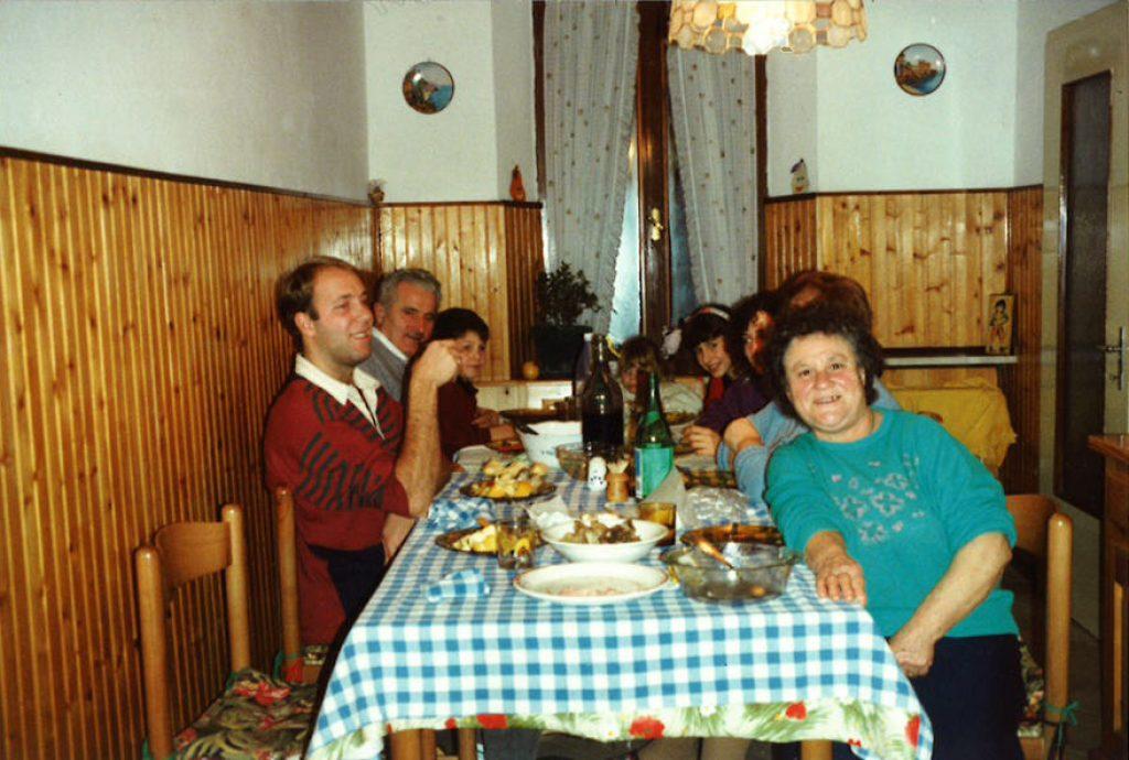 de traditionele Italiaanse maaltijd