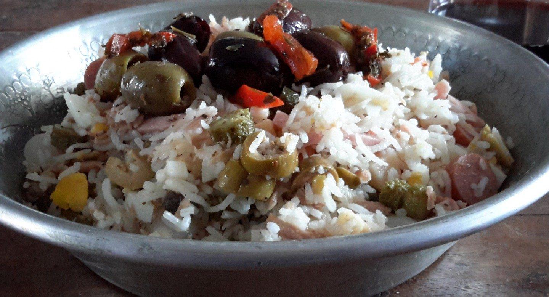 Italiaanse rijstsalade (insalata di riso)