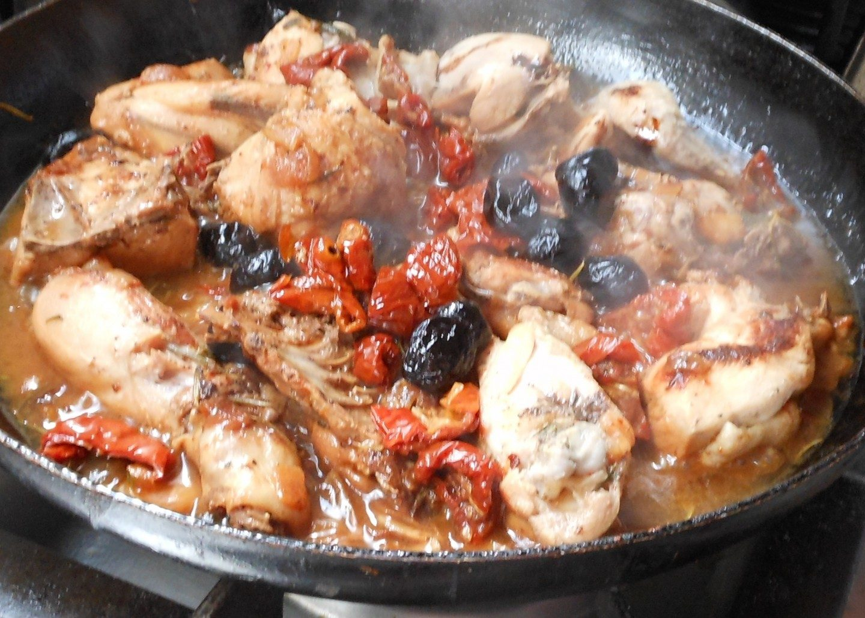 Italiaanse kip uit Lazio