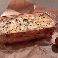 Lasagne met pompoen, spinazie en mozzarella-c