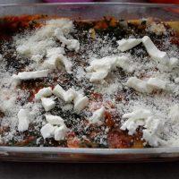 Lasagne met pompoen, spinazie en mozzarella8