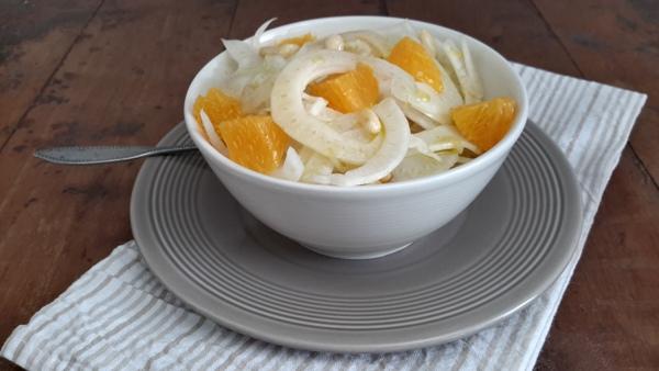 Insalata di finocchio, arance e pinoli-2