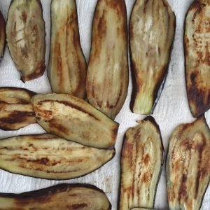 Polpette di melanzane al sugo di pomodoro-5
