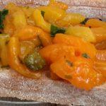 Bruschette met gegrilde paprika (bruschette con peperoni al forno)