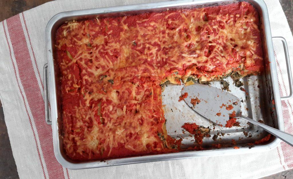 Cannelloni met spinazie, ricotta en walnoten-6